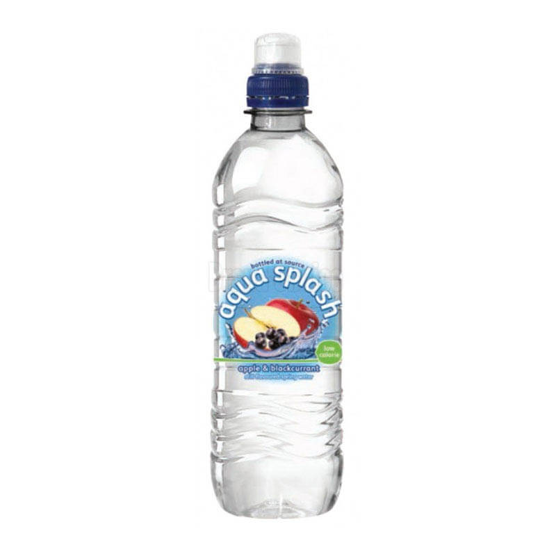 Aqua Splash Apple and Blackcurrant 500ml (24)
