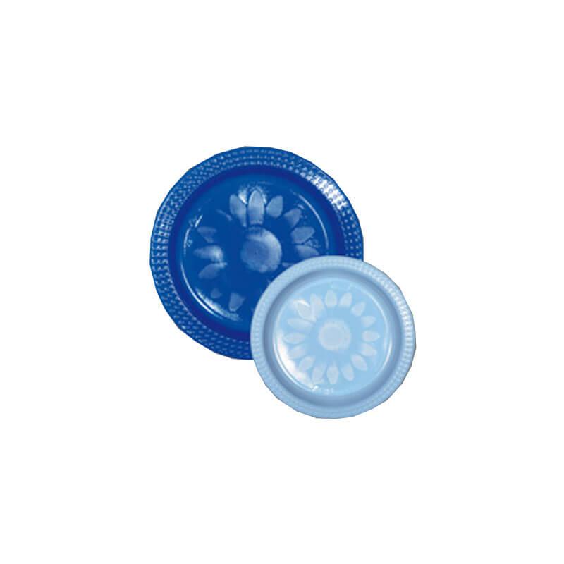Blue 22cm u0026 Light Blue 17cm Plastic Plate Pack ...  sc 1 st  Refreshment Shop & Blue 22cm u0026 Light Blue 17cm Plastic Plate Pack (20+20) : Refreshment ...