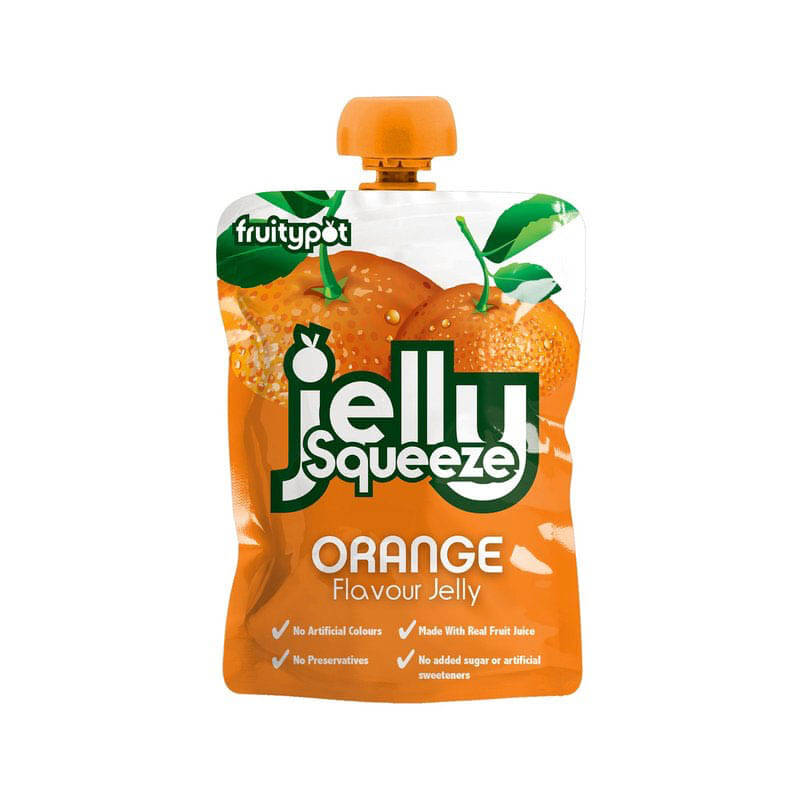 Jelly Squeeze Orange (95g) 16