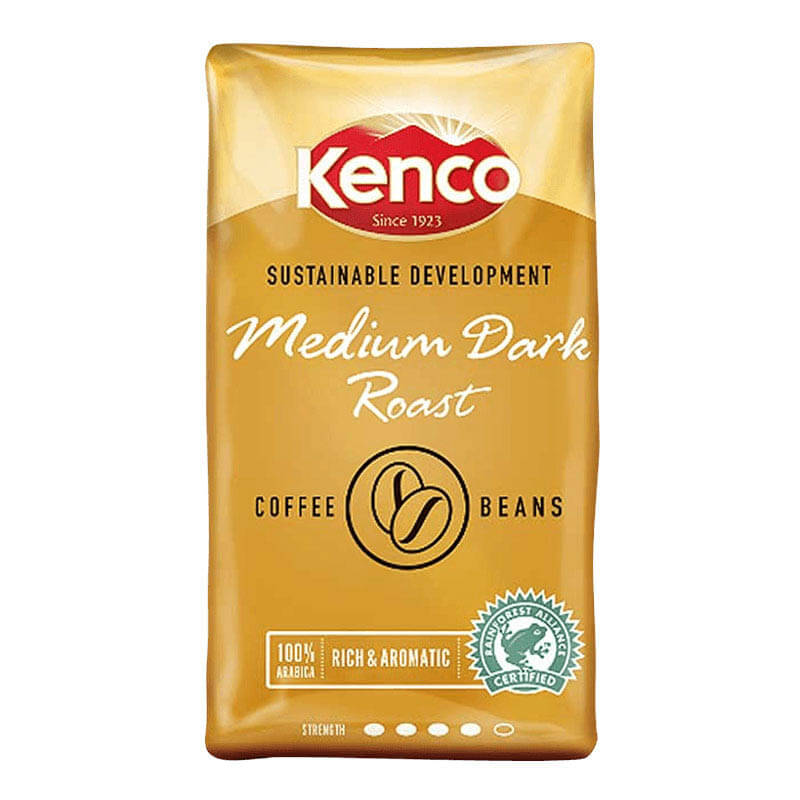 Kenco Sustainable Development Coffee Beans 1kg 8
