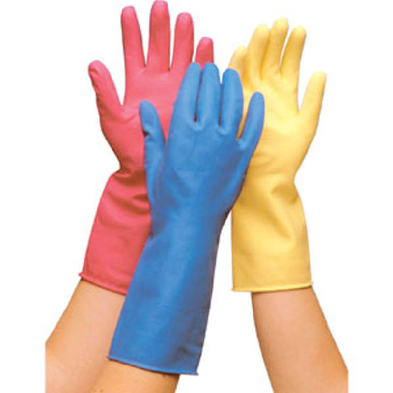 Household Rubber Gloves Small (1 Pair) Various Colours