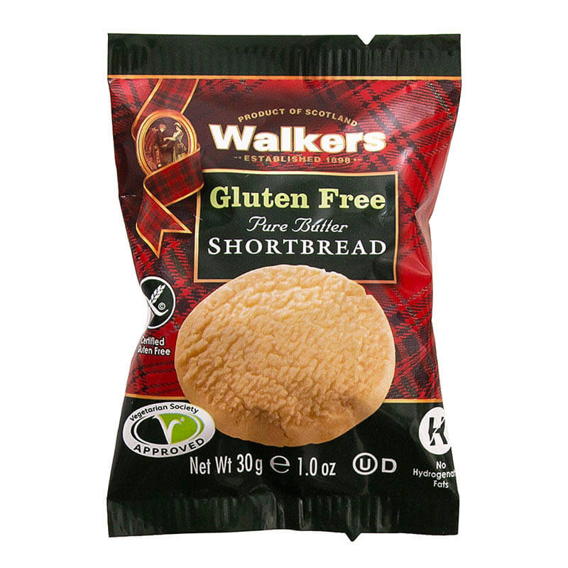 Walkers Gluten Free Shortbread (60)