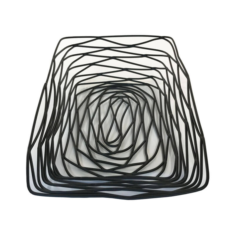 Rectangular Birdsnest Display Basket