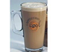 Cappuccino Cool Latte Glass 14fl oz.