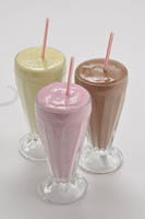 Dinkum Milkshake Glasses (6 Pack)