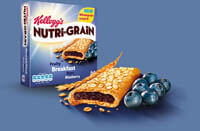 Kellogs Nutrigrain Blueberry 37g (28)