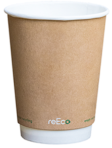 8oz Recup Recyclable Hot Drink Paper Cup (25)