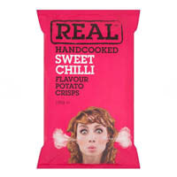Real Crisps - Sweet Chilli