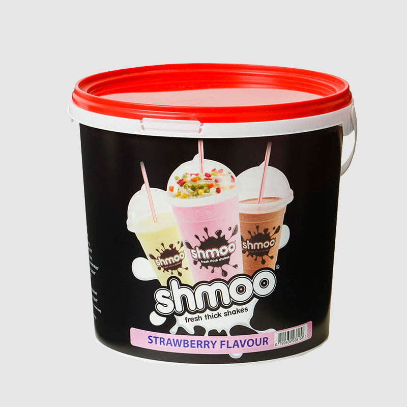 Shmoo Milkshakes Strawberry Mix 1.8 Kg Tub