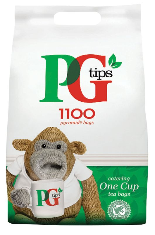 PG Tips Tea Bags Pyramid 1 Cup (1100)