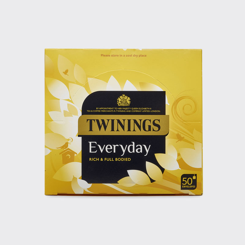 Twinings Everyday Enveloped Tea Bags (1x50)