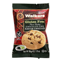 Walkers Gluten Free Choc Chip Shortbread Rounds (60)