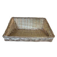 Large Sloping Wicker Basket